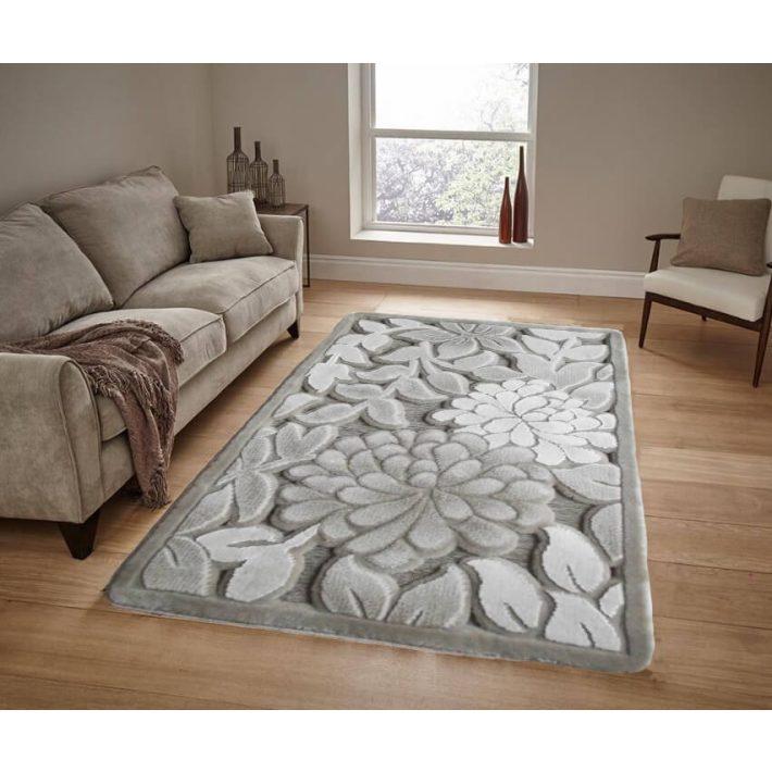 Anaella vastag bézs 3D szőnyeg