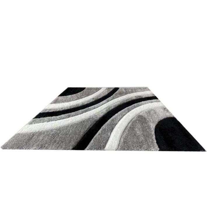 Colette vastag Drapp-Barna Shaggy szőnyeg 80 x 150 cm
