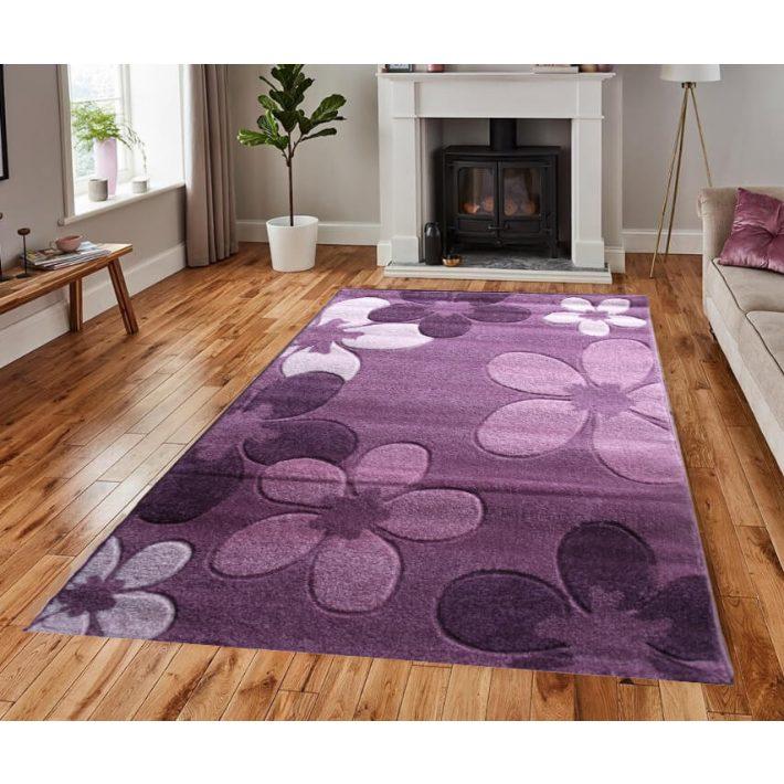 Sofia Vastag szőnyeg lila 120x170