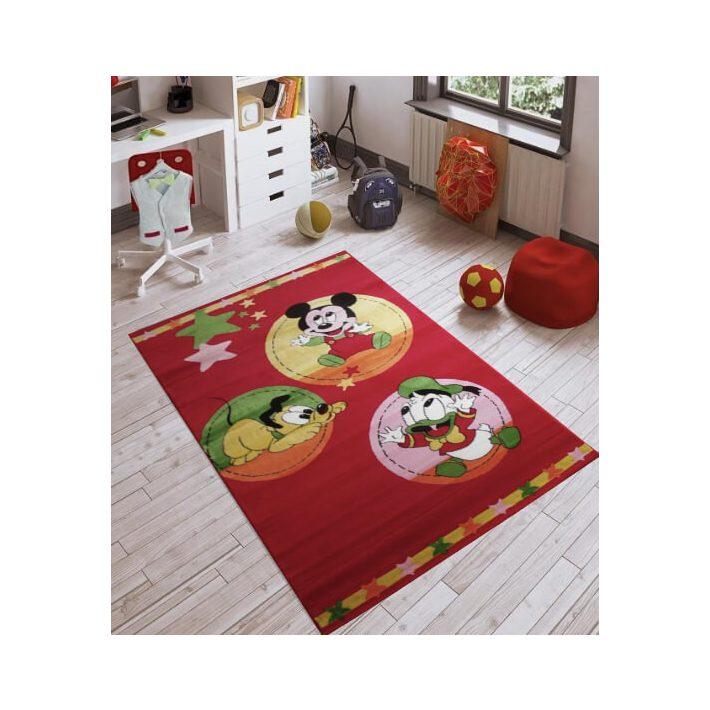Mickey Piros gyerekszőnyeg 200 x 300 cm
