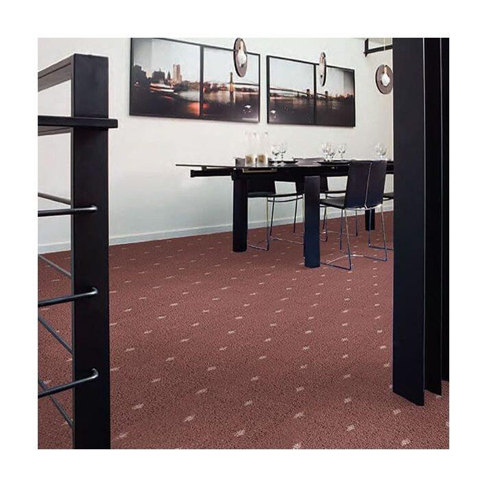 Csavart szálú Shaggy Minőségi padlószőnyeg 4 m széles arany színben