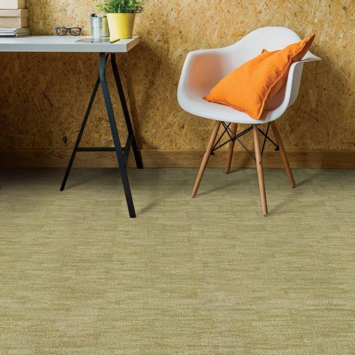Minőségi Vastag Nyírt padlószőnyeg zöld színben 4 m széles