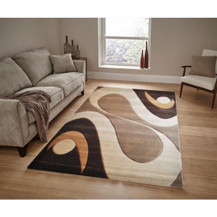 Symfónia drapp csoki barna szőnyeg