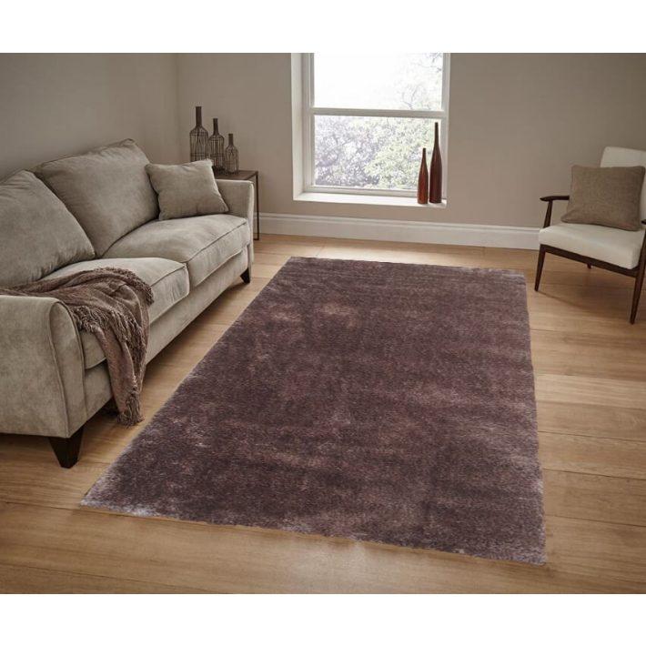 Valladolid prémium minőségű arany barna shaggy szőnyeg