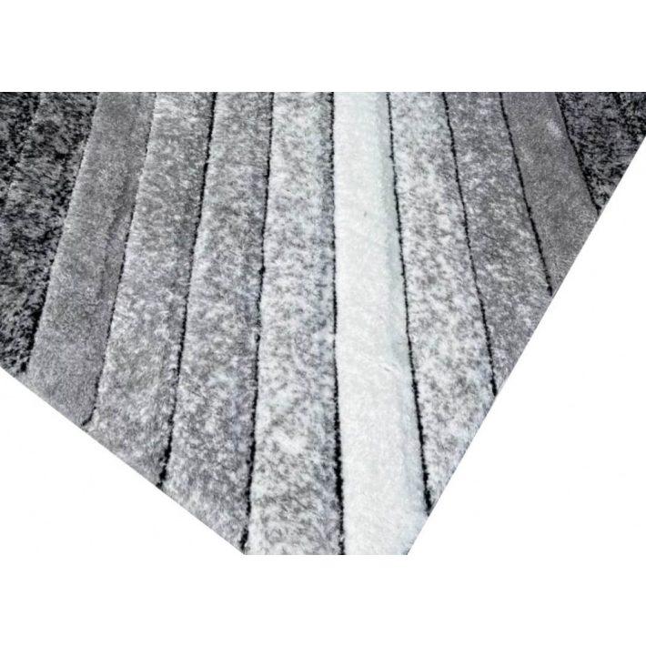 Szófia Fehér Zöld Shaggy Szőnyeg 200 x 280 cm