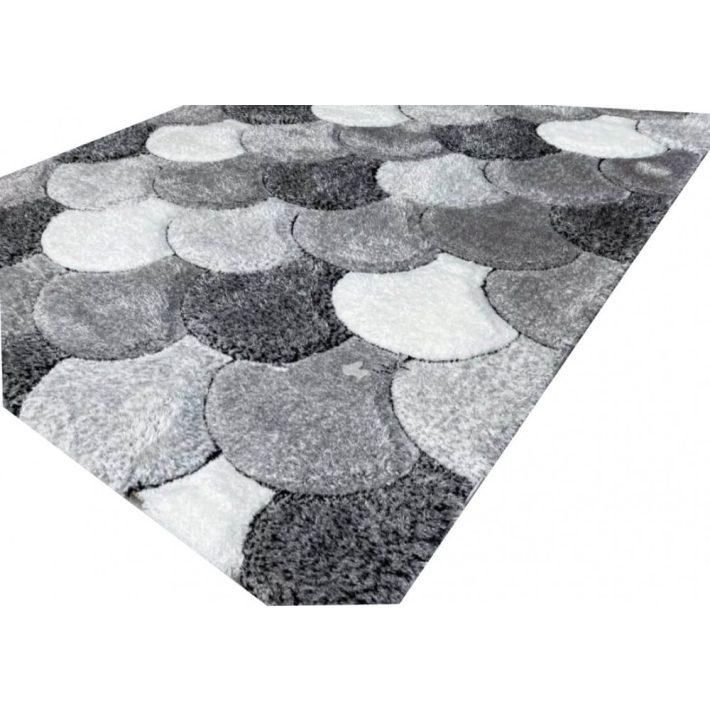 Shaggy szőnyeg lila-pink 120x170 cm