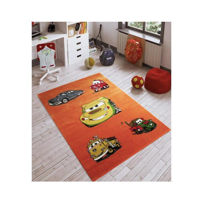 Muszi Zsubi Buci Narancs Zöld gyerekszőnyeg