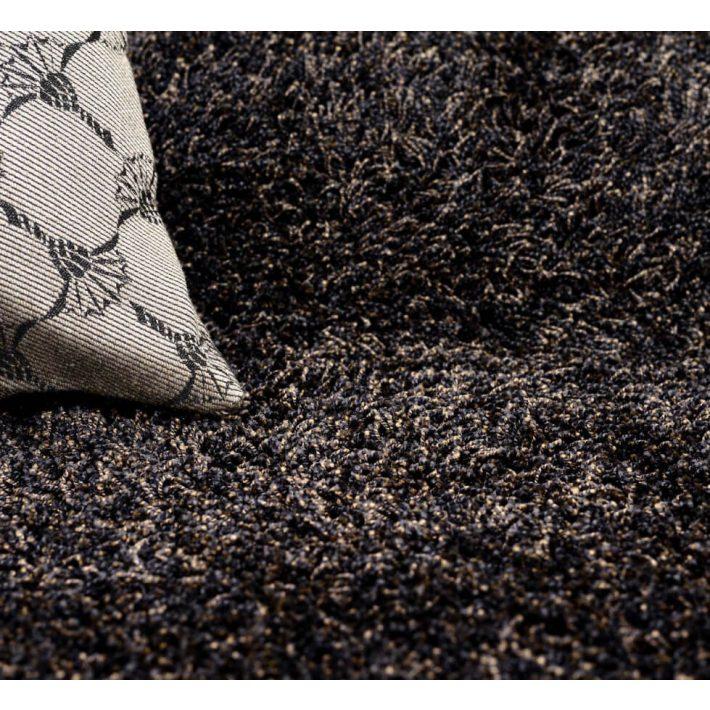 Minőségi Shaggy padlószőnyeg 4 m széles krém színben