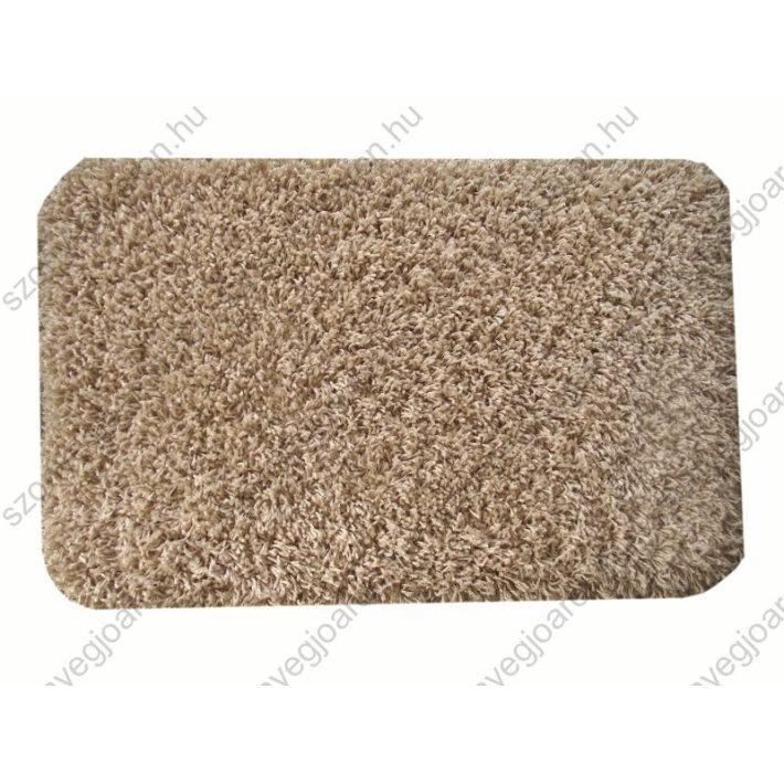 Harmatka Shaggy Ágyelő Bézs Szőnyeg 50x80 shaggy szőnyeg webáruház