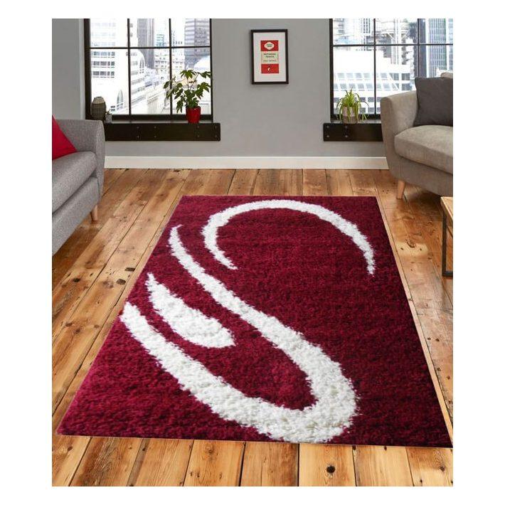 Liliana Meggy Piros Shaggy Szőnyeg 70 x 100 cm