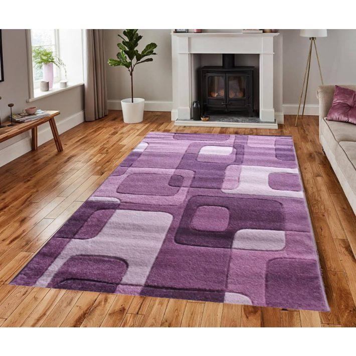 Sissy Vastag szőnyeg lila-rózsaszín 120x170