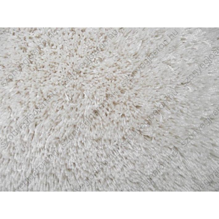 Blair Fehér Shaggy Padlószőnyeg 4 m széles