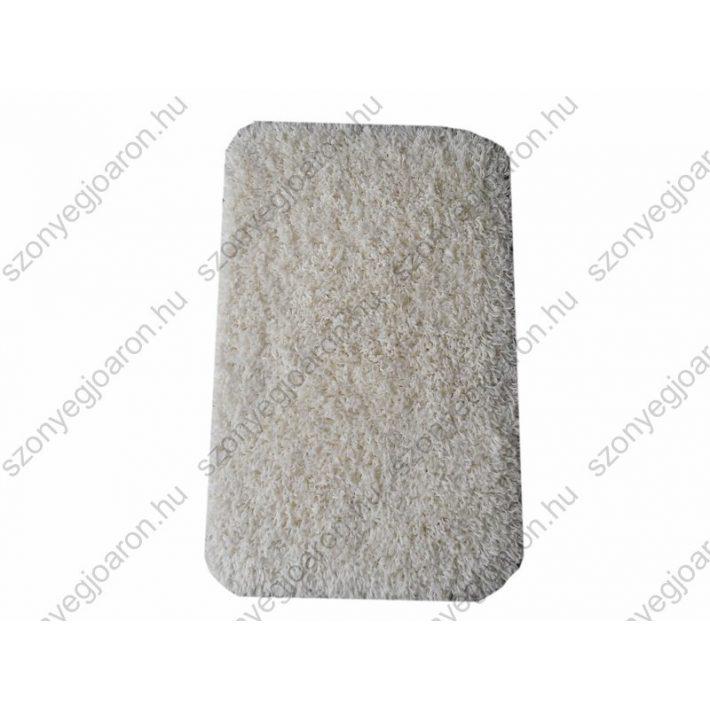 Hópihe Shaggy Ágyelő Fehér Szőnyeg 50x80 shaggy szőnyeg webáruház