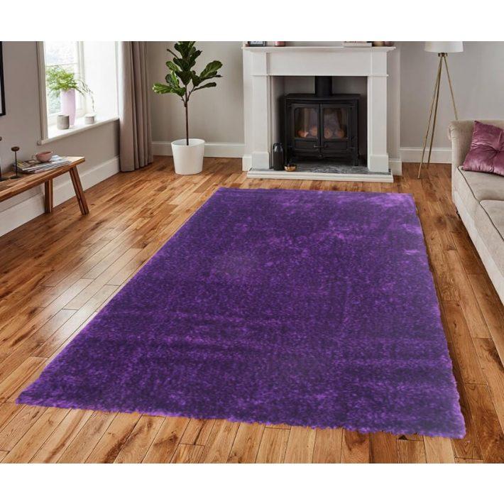 Ilara Lila Shaggy szőnyeg 80 x 150 cm