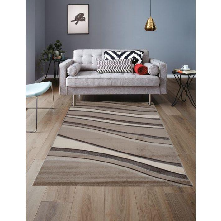 Sárma krém barna szőnyeg 150 x 230 cm