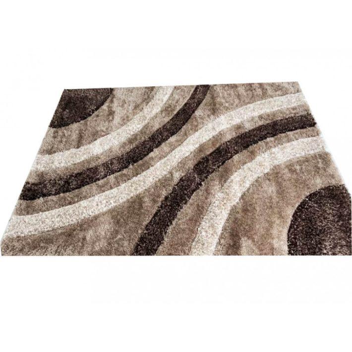 Natural Pezsgő Bézs Shaggy szőnyeg 70 x 100 cm