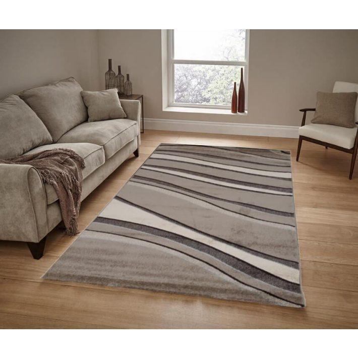 Tiana krém barna szőnyeg 70 x 100 cm