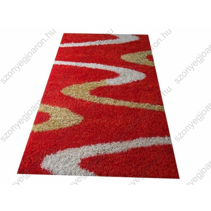 Cordoba vastag Narancs-sárga Shaggy szőnyeg 70 x 100 cm