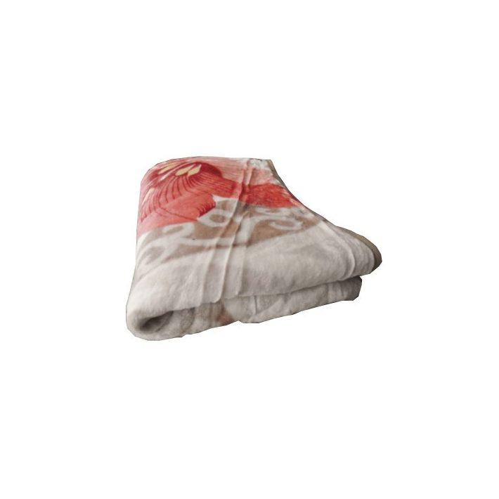 Lory Bézs-Piros Pléd Ágyatakaró 150 x 200 cm