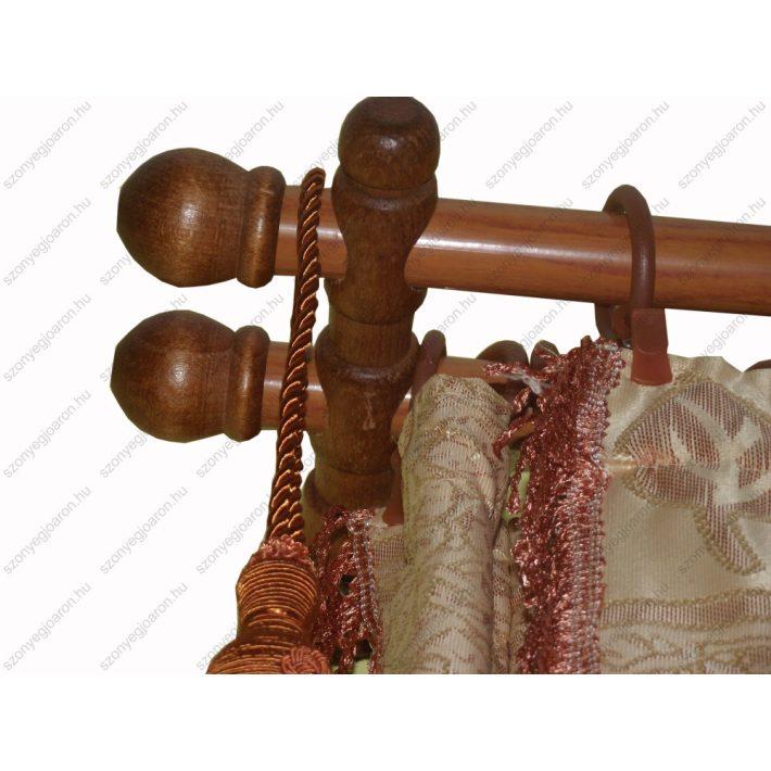 Flamina Cseresznye Egysoros Fa Karnis Szett 250 cm