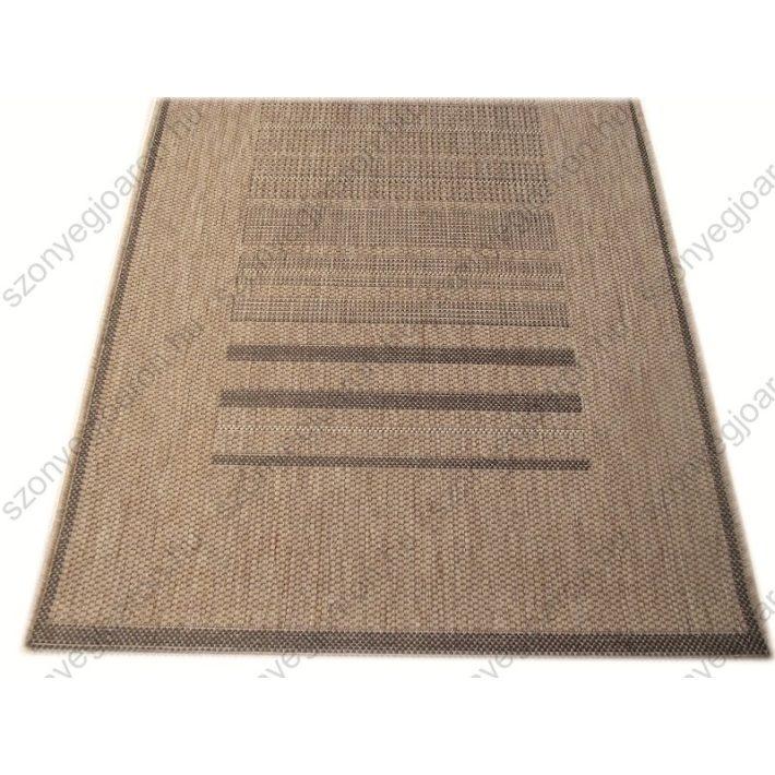 Bézs Sötét-barna elegáns Szőnyeg 80x150