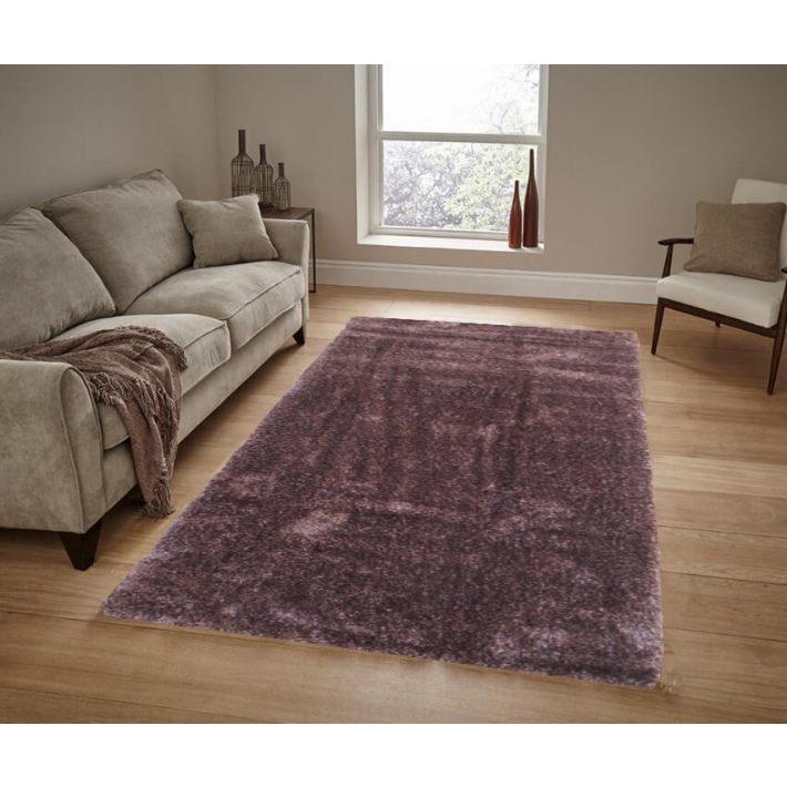 Cartagena prémium kategóriás barna shaggy szőnyeg