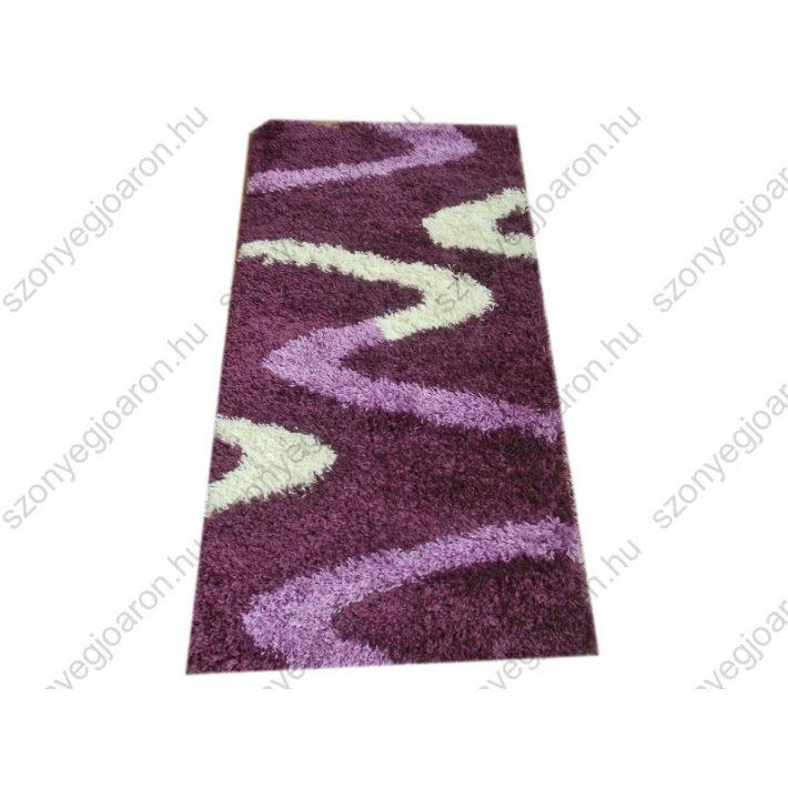 Carneval Lila-Fehér Shaggy szőnyeg 150x230cm