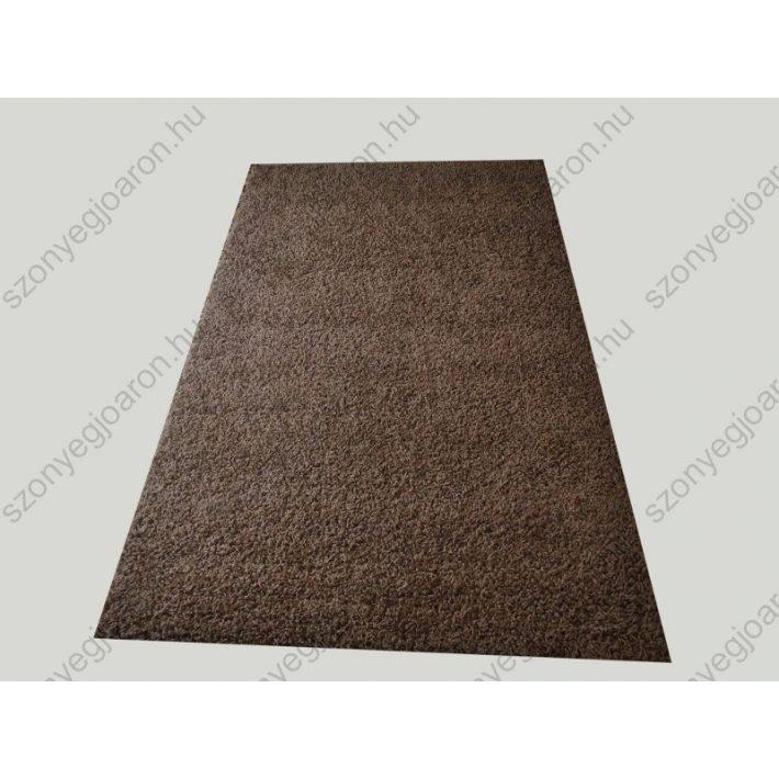Bájos Barna Shaggy szőnyeg 150 x 230 cm
