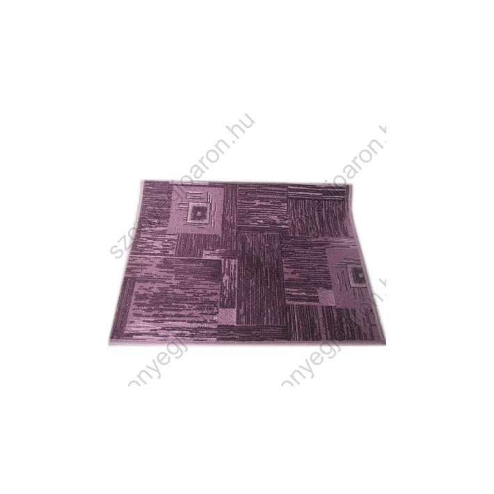 Dettina Modern mintás lila padlószőnyeg 3 m széles
