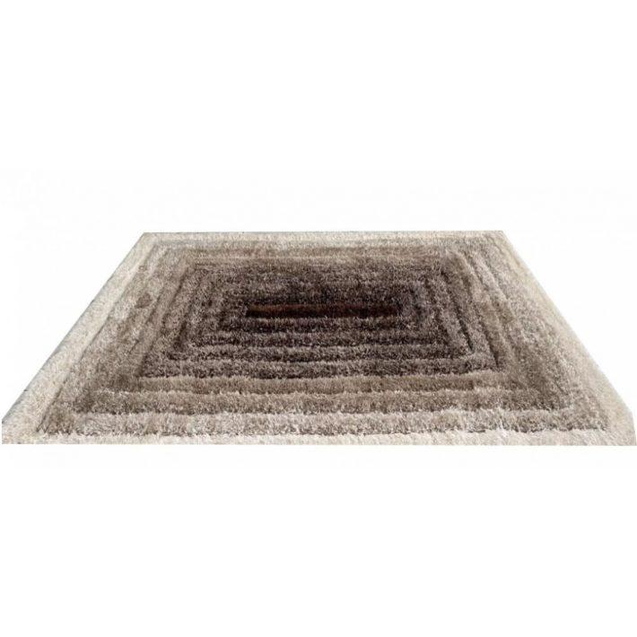 Milla Kék Fehér Shaggy szőnyeg 80 x 150 cm