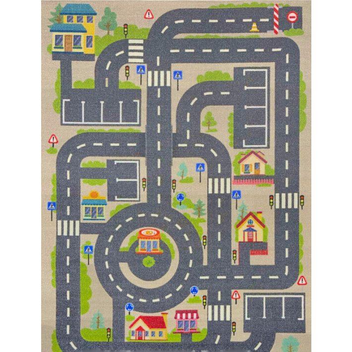Szép Hercegnők Rózsaszín Gyerekszőnyeg 133 x 190 cm