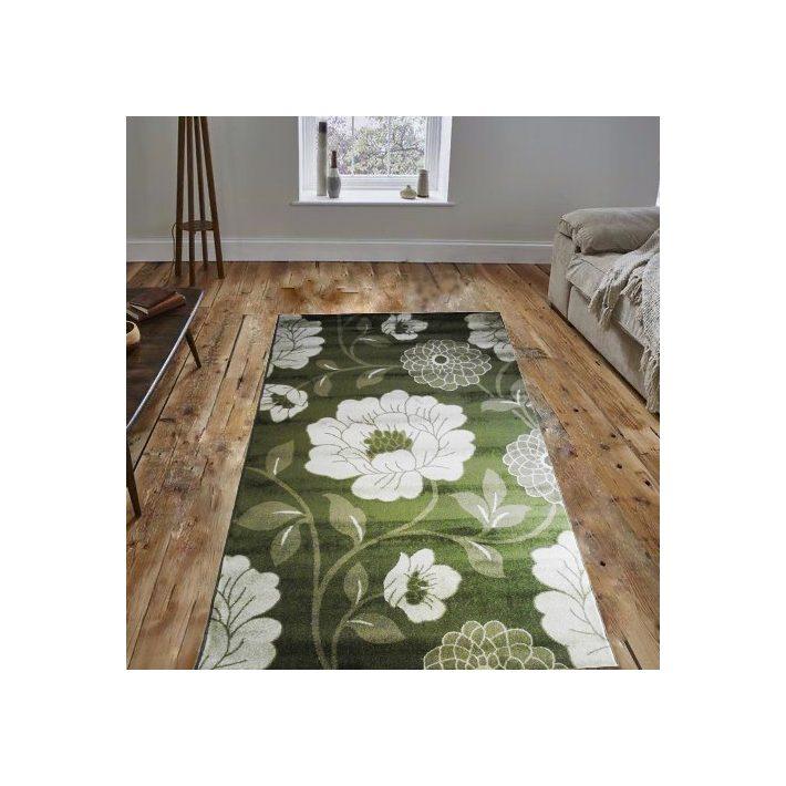 Casimiro Zöld Nyírt Dombor szőnyeg 125 x 200 cm