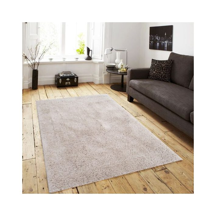 Almada bézs krém shaggy szőnyeg