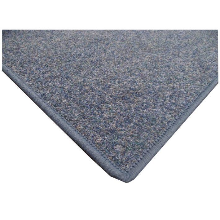 Erős ipari filc kék padlószőnyeg - fitness és edzőterembe is