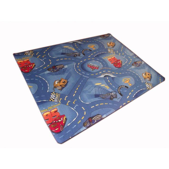 Start Autóverseny-pályás gyerekszőnyeg 200 x 300 cm