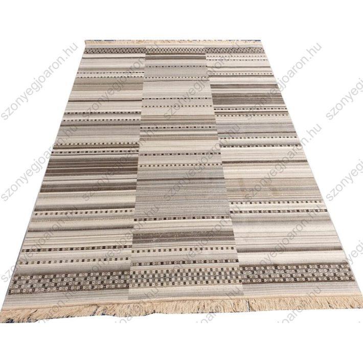 Domino Bézs Barna Modern szőnyeg