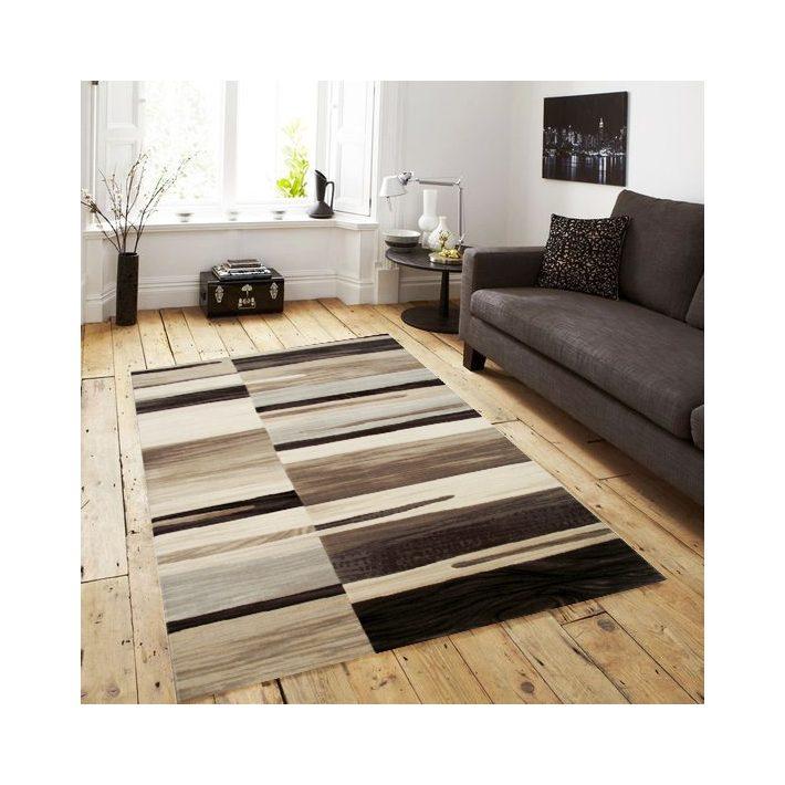 Mérida barna krém szőnyeg