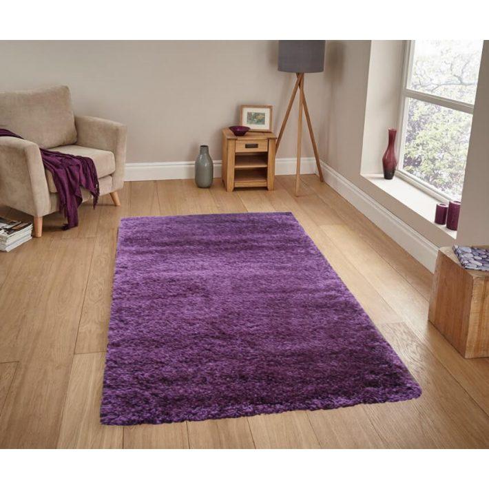 Isabell Lila Shaggy szőnyeg 150 x 230 cm