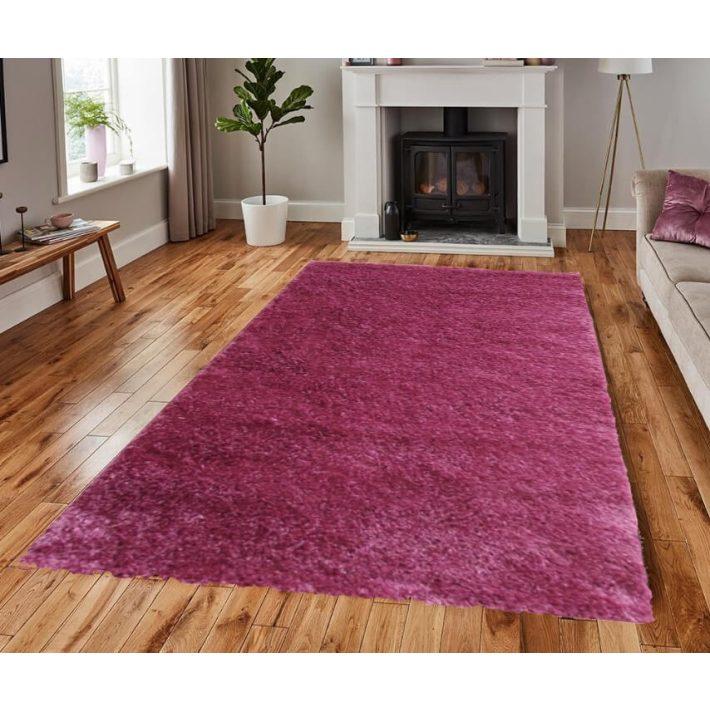 Angelina Pink shaggy szőnyeg 125x200cm