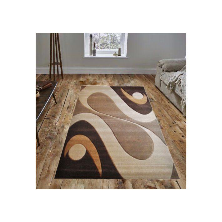 Simfónia Bézs Barna szőnyeg 80x150cm