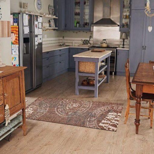 Kökörcsin konyhai szőnyeg zöld