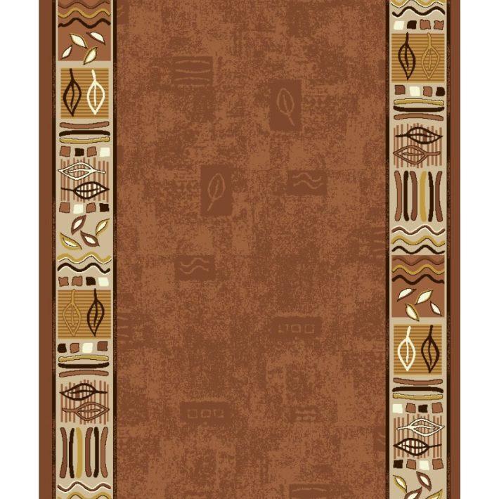Linetta Zöld Bézs Színű Tekercses Futószőnyeg