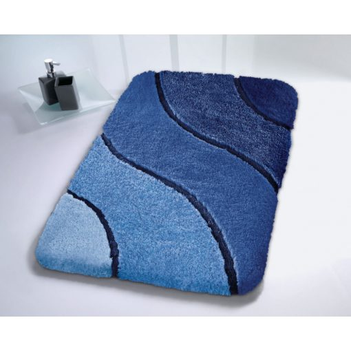 Ramirez prémium kék fürdőszoba szőnyeg Kleine Wolke
