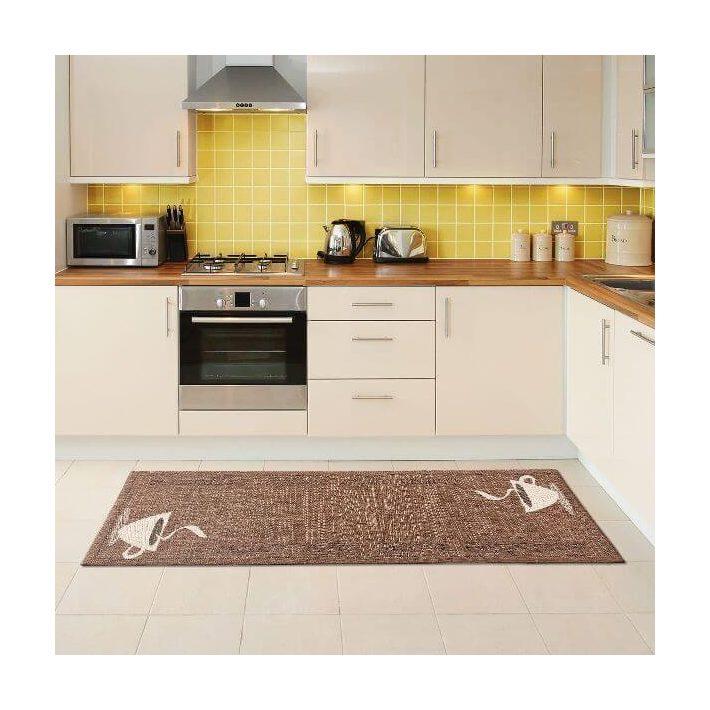 Szafira Prémium Elegáns Modern Konyhai Szőnyeg 50 x 150 cm
