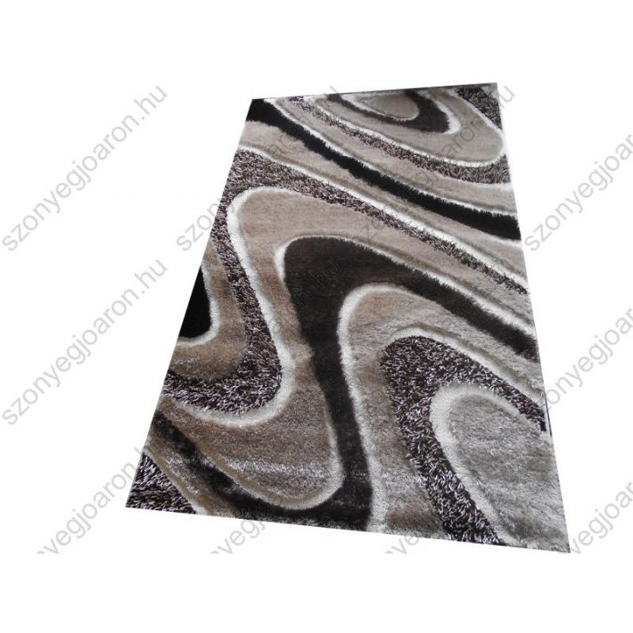 Milyen a dús, tömör antracit szürke-barna shaggy szőnyeg