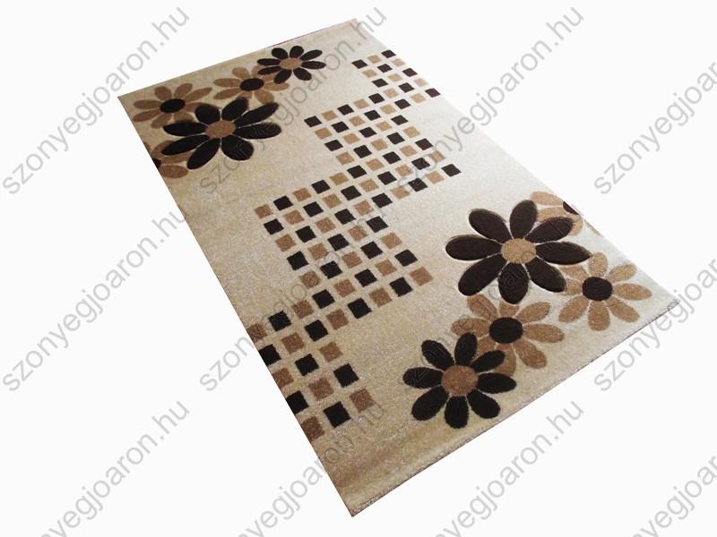 A csodaszép virágmintás arany-szőnyeg