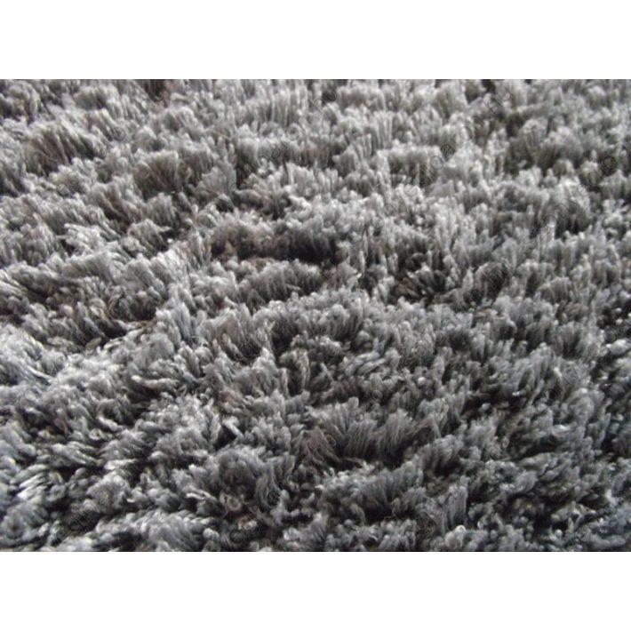 Elegáns, szürke micro shaggy szőnyeg